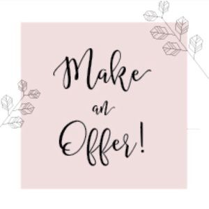 Make me an offer or bundle for an extra discount💕